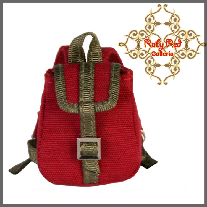 RB0013A RED Flip Backpack