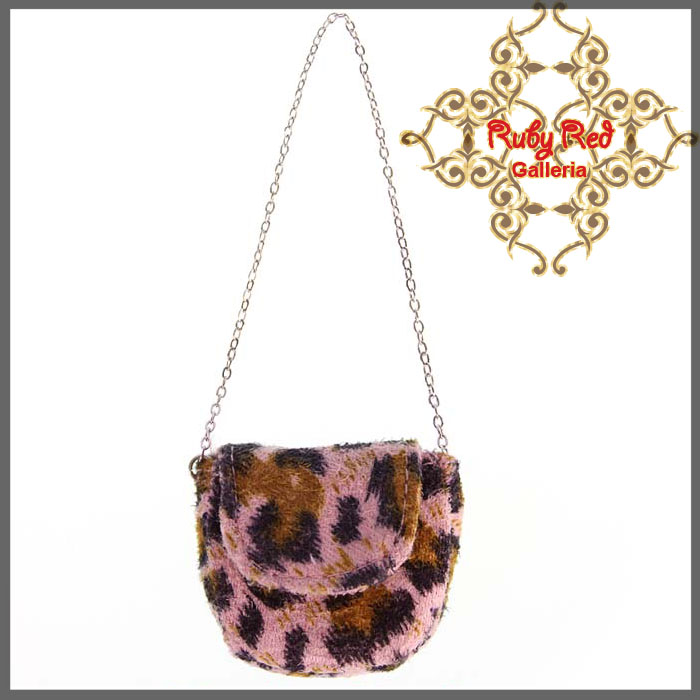 RB0017A Leopard Pattern Elegant Side Bag