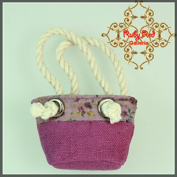 RB0019A Violet Canvas Bag