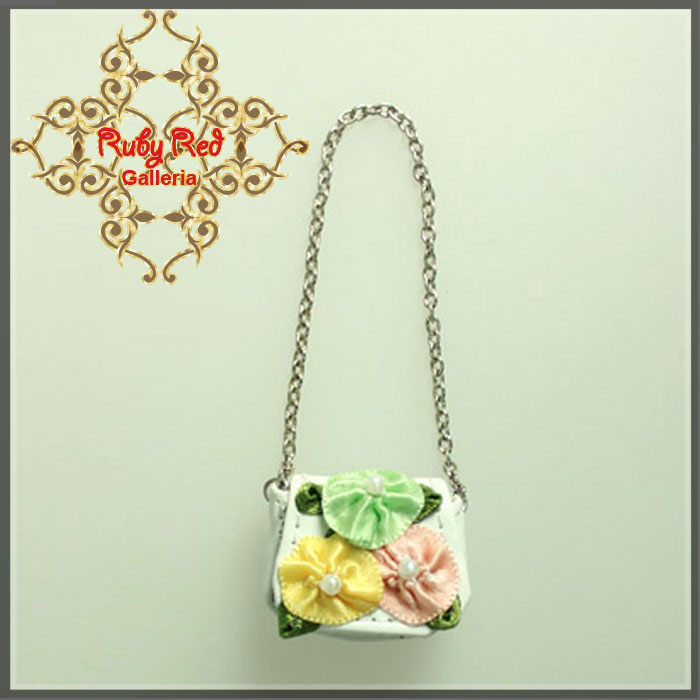 RB0020A Floral Leather Bag