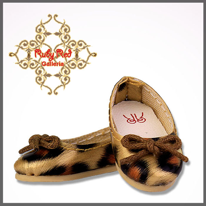 SH0002A Leopard Pattern Slip On