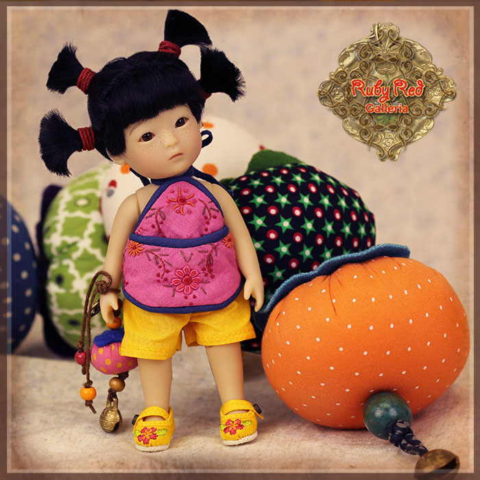 TA0004A Tanghulu - Si Xi'er (Love) doll set