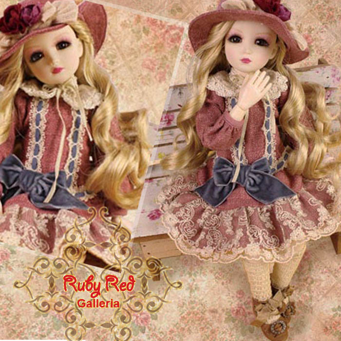 WC0037A The French Rose (with wig) - Cloth Set
