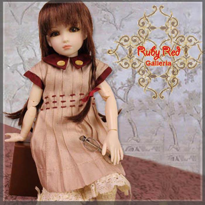 WC0039A Burgundy Joy (with wig) - Cloth Set