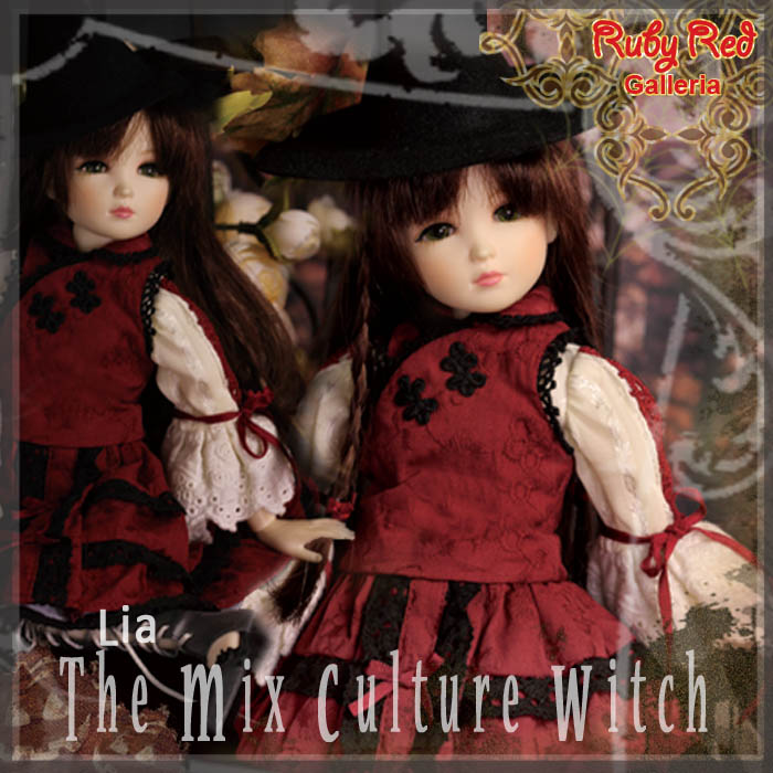 WC0040A The mix culture witch (with wig) - Cloth Set