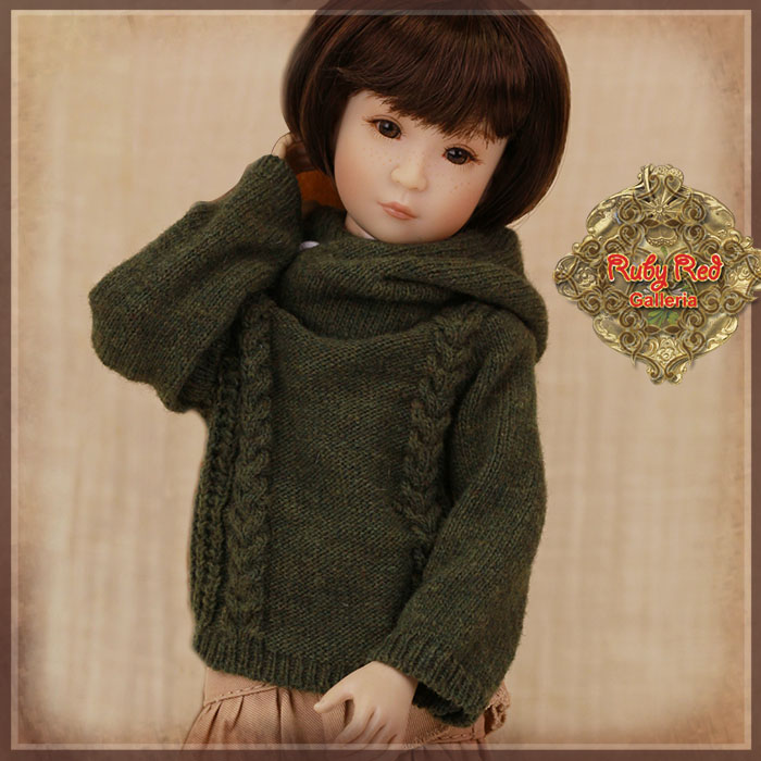 WC0058B Army Green Pullover