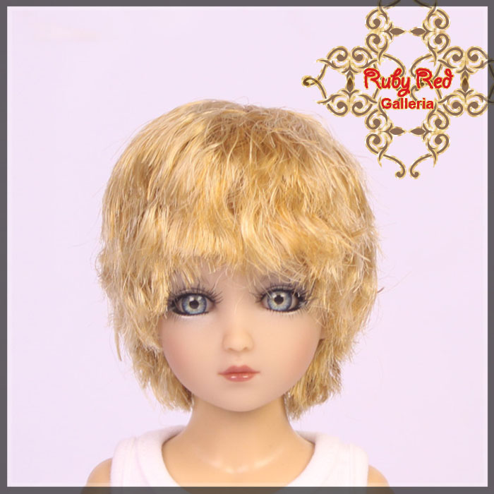 WD0006A Short Wave Blonde Wig