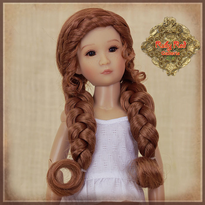 WD0013A Long doll wig with braids