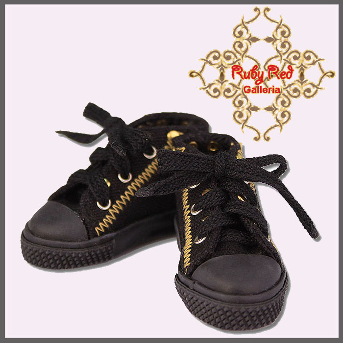 WH0006A Black Sneakers