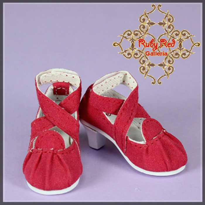 WH0008B Red High Heels