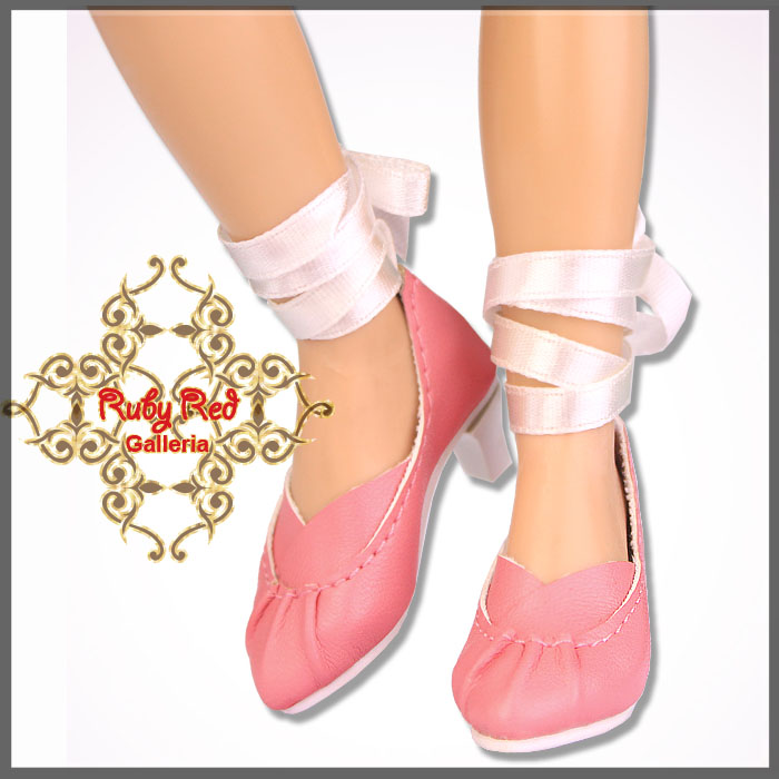 WH0010A Pink Ballet Style High Heels