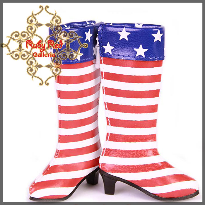 WH0016A U.S. Flag Boots