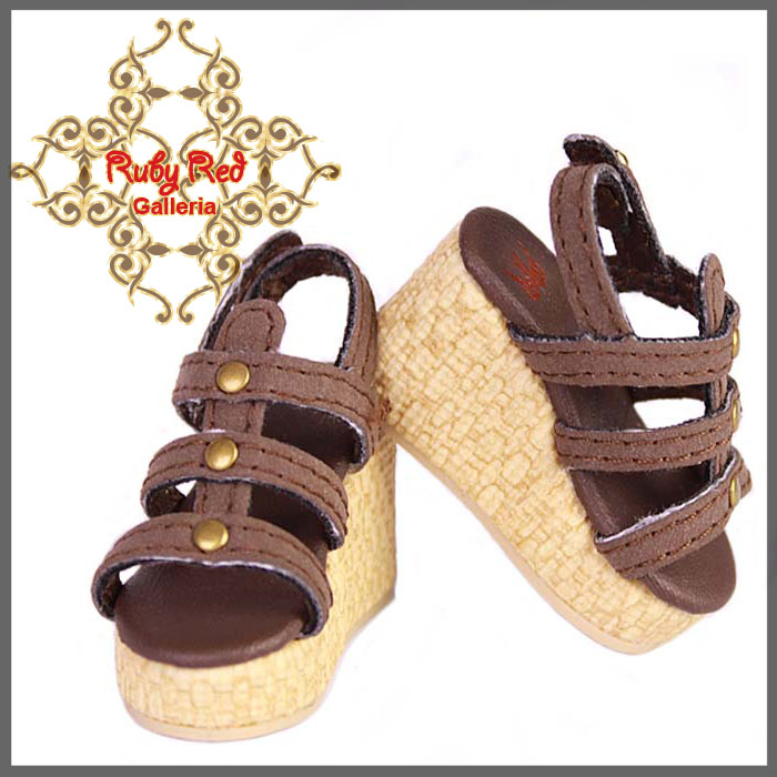 WH0023A Dark Brown Sandals