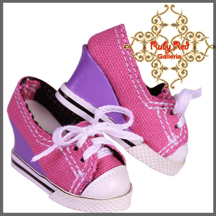 WH0029A Purple & Pink Slip On
